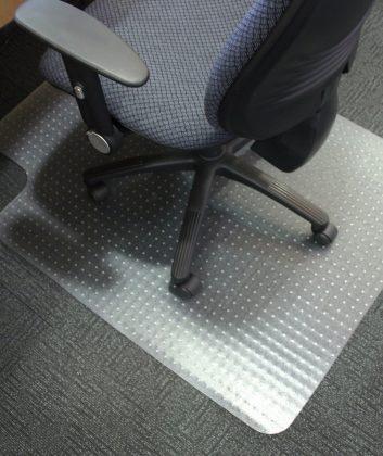 Bürostulunterlage Bodenschutzmatte Hartboden Teppichboden