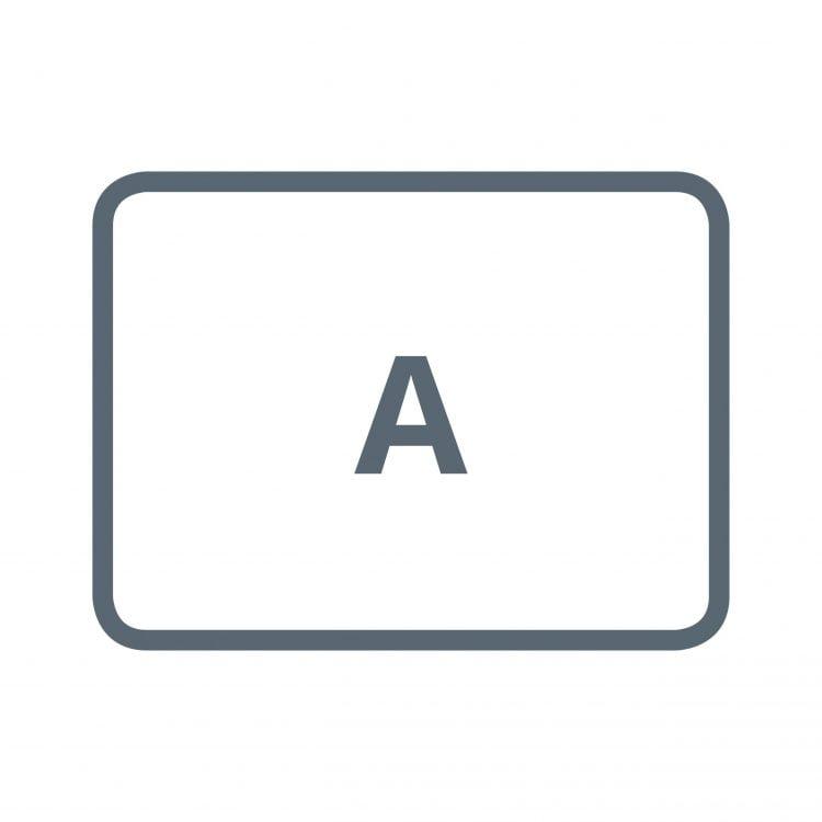 Bürostuhlunterlage Form A