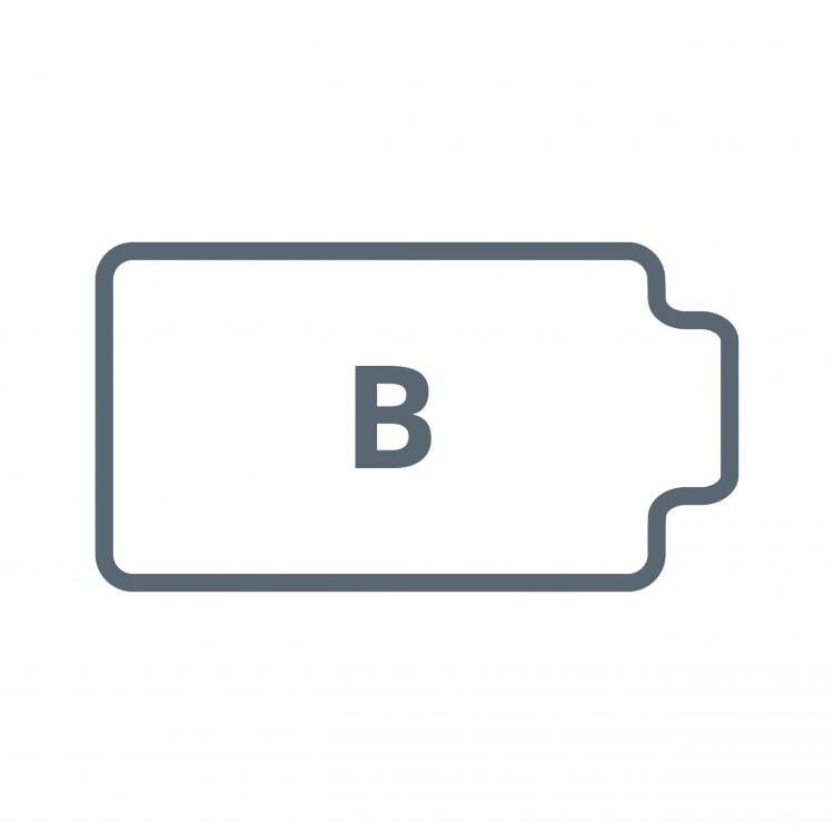 Bürostuhlunterlage Form B