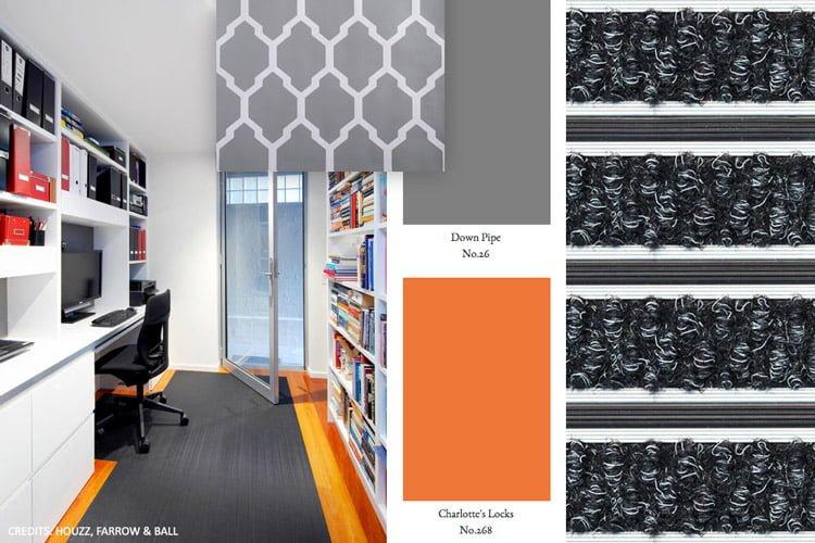 Sauberlaufmatten Schmutzfangmatten für Büro und Office