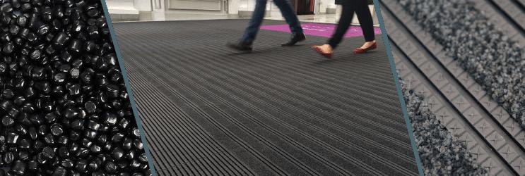 Sauberlaufmatten Schmutzfangmatten Material 2 Nylon