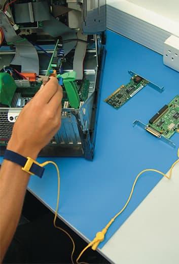 ESD Schutzmatte Tischmatte Set Erdungskabel Armband