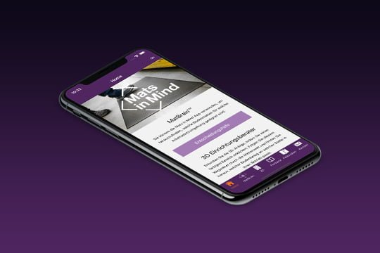 Arbeitsplatzmatten App Auswahl Hilfe Handy