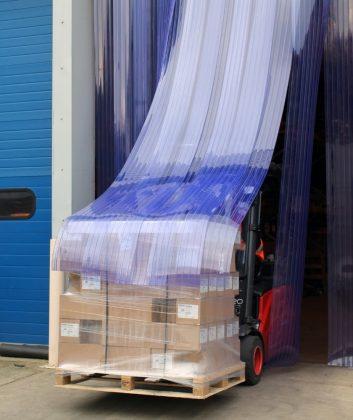 PVC Streifenvorhänge Hersteller Industrie