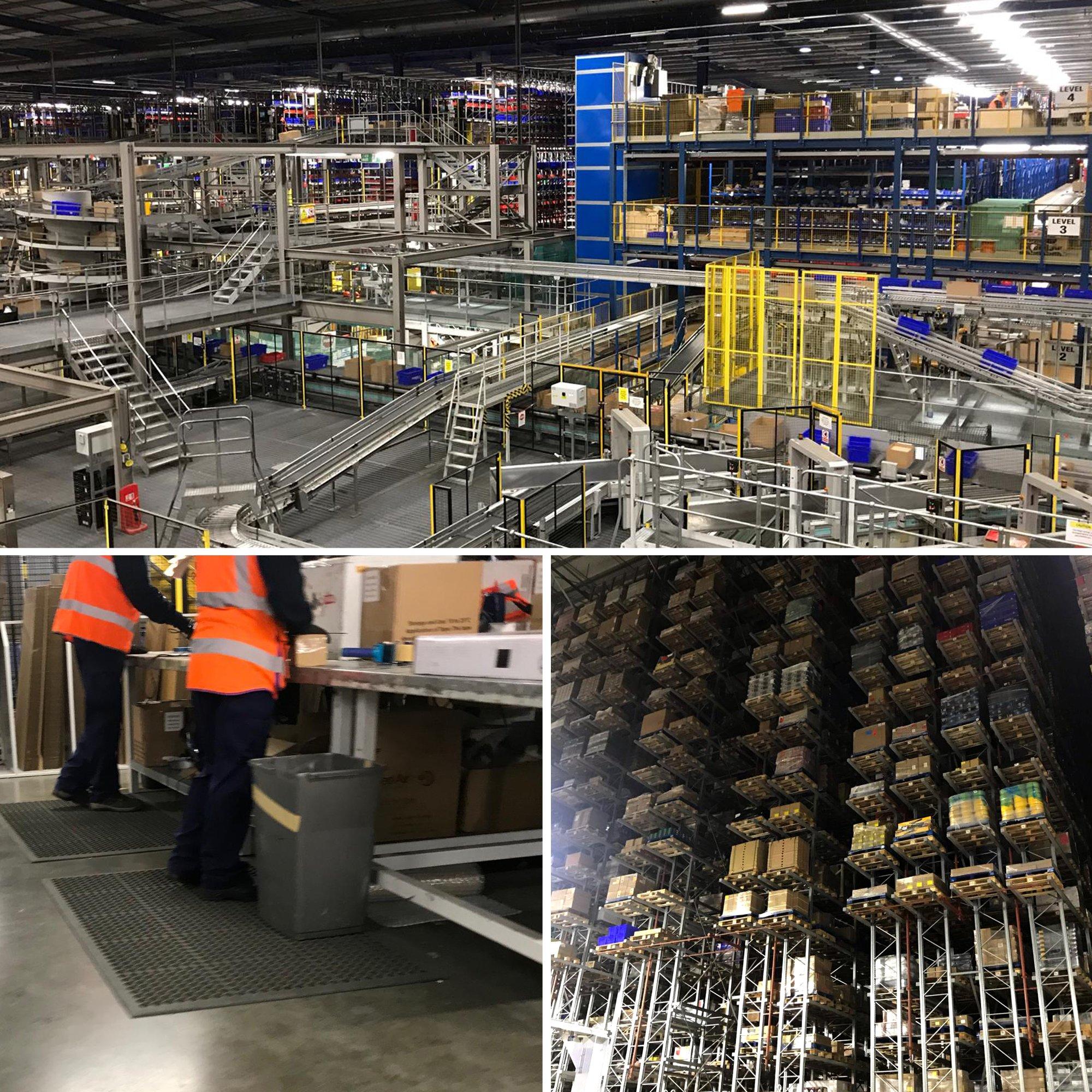 COBA Europe ergonomische Arbeitsplatzmatten bei Screwfix