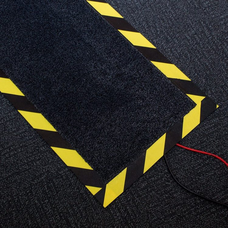 Kabelschutzmatte Kabelkanal Kabelmatte Kabelschutz Büro Serverraum Fußboden