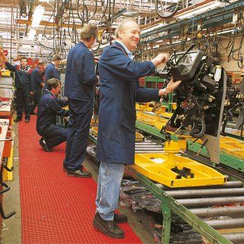 Arbeitsplatzmatte Sicherheitsmatte Industriematte Coba Cobamat heavy