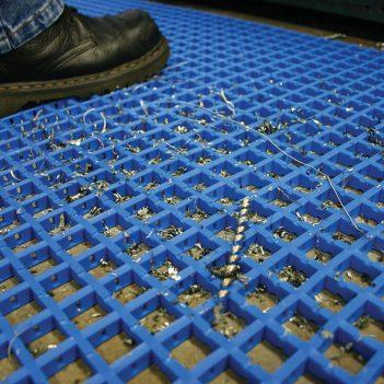 Sicherheitsmatte Arbeitsplatzmatte Industriematte Coba Cobamat Standard