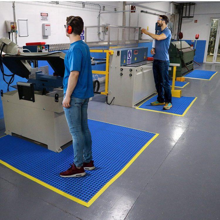 Arbeitsplatzmatte Sicherheitsmatte Antirutschmatte Coba Workstation