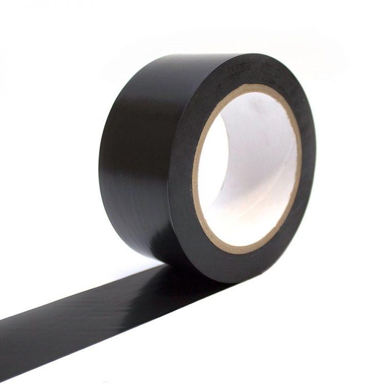 Bodenmarkierungsband Selbstklebend Bodenmarkierung schwarz