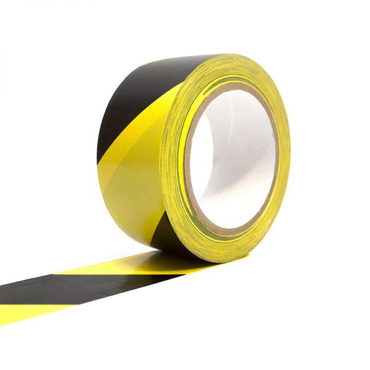 Bodenmarkierungsband Selbstklebend Bodenmarkierung schwarz gelb warn markierung