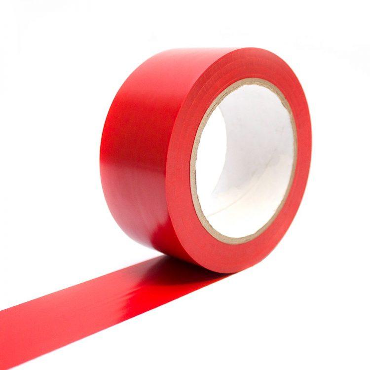 Bodenmarkierungsband Selbstklebend Bodenmarkierung rot