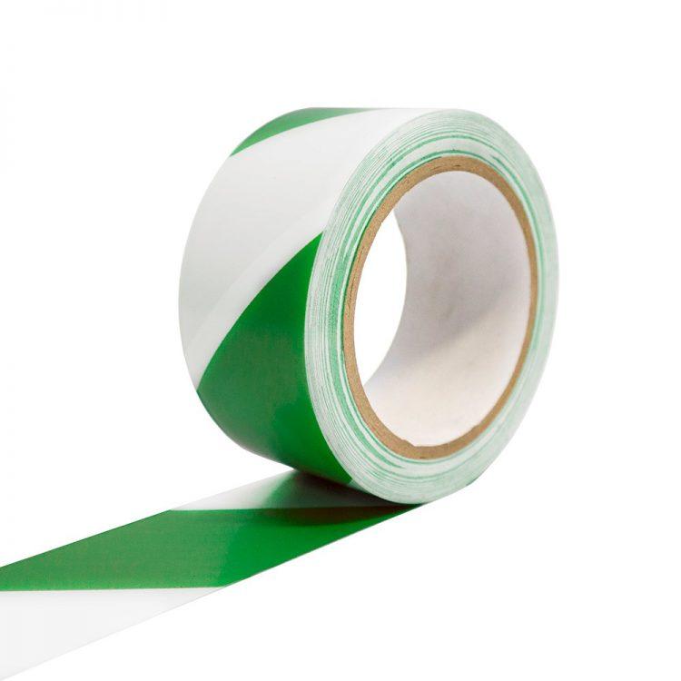 Bodenmarkierungsband Selbstklebend Bodenmarkierung grün weiß