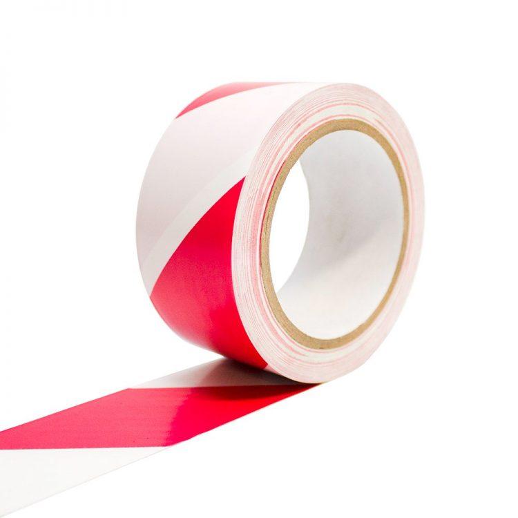 Bodenmarkierungsband Selbstklebend Bodenmarkierung rot weiß