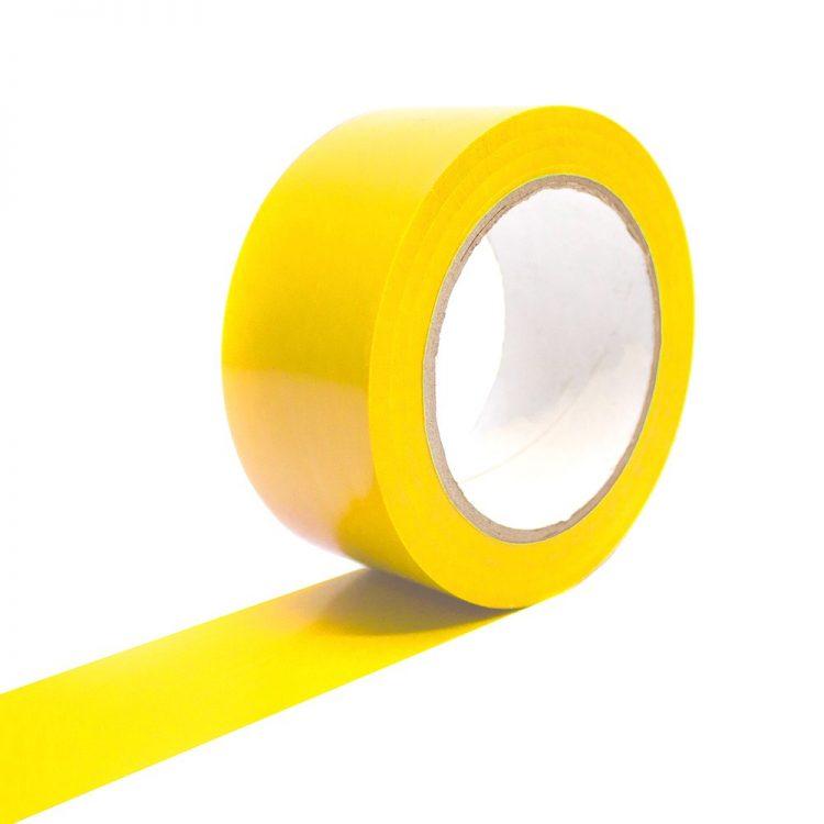Bodenmarkierungsband Selbstklebend Bodenmarkierung gelb