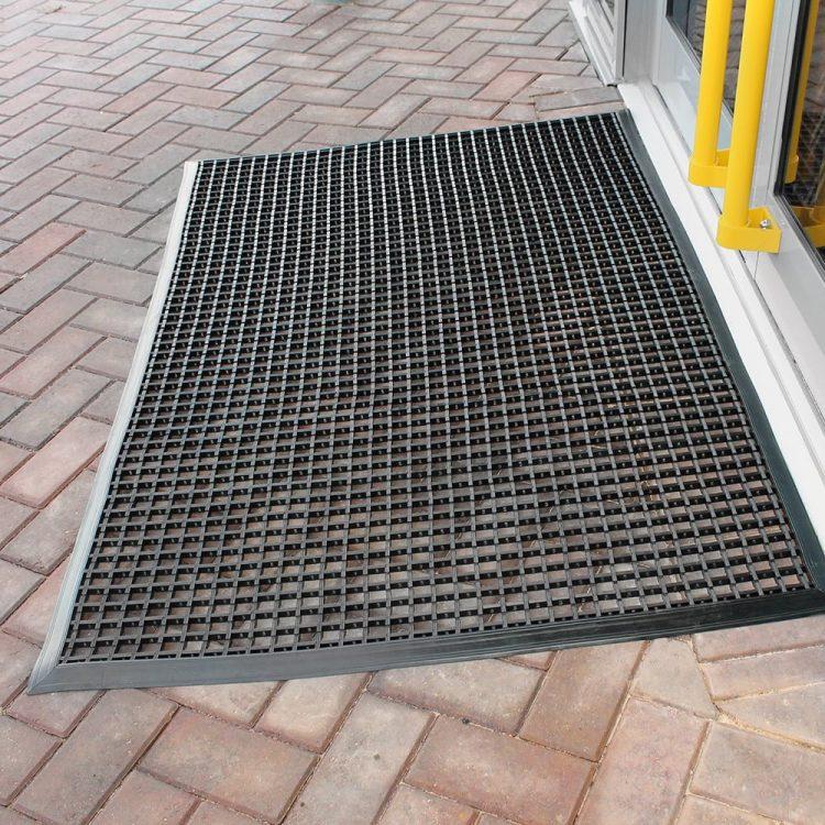 Schmutzfangmatte Sauberlaufmatte Eingangsmatte Außen Außenbereich langlebig