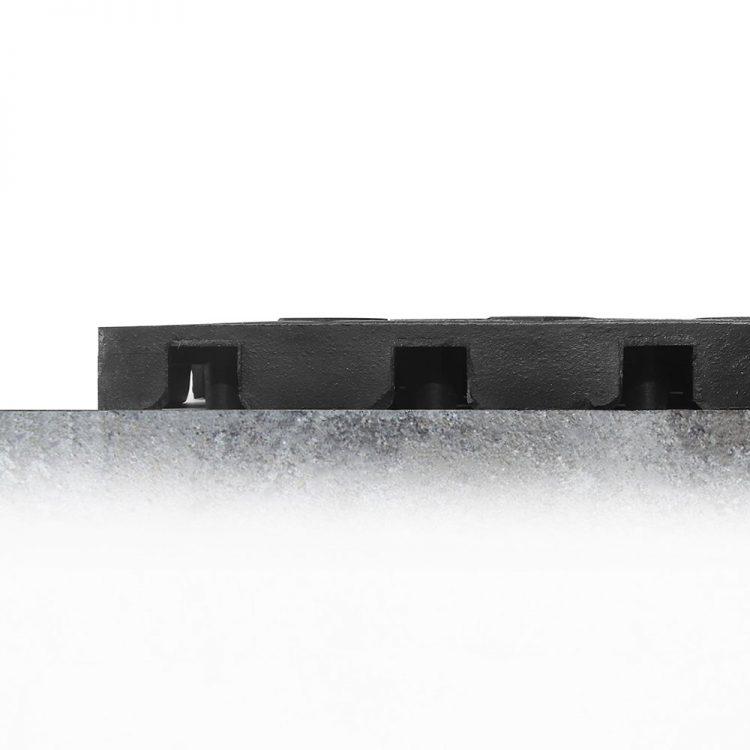 Anti-Ermüdungsmatte ergonomische Arbeitsplatzmatte Fatigue Lock Kombination geschlossene und offene Oberfläche