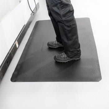 Arbeitsplatzmatten Industriematten Anti-Ermüdungsmatte Meterware Coba Fluted Anti Fatigue