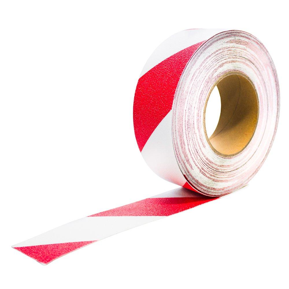 Antirutschbelag Anti Rutsch Klebeband Fussboden Sicherheit Bodenmarkierung rot weiß warn markierung sicherheit