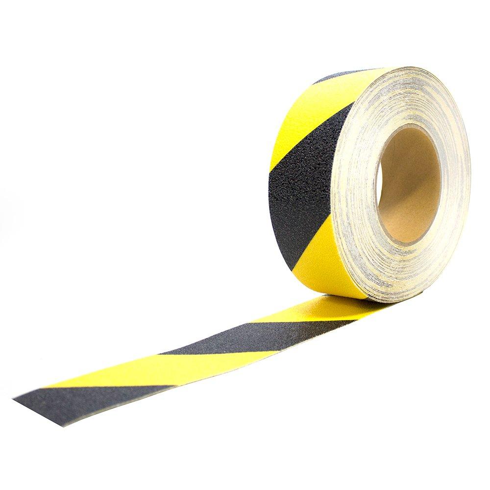Antirutschbelag Anti Rutsch Klebeband Fussboden Sicherheit Bodenmarkierung schwarz gelb warn markeirung sicherheit