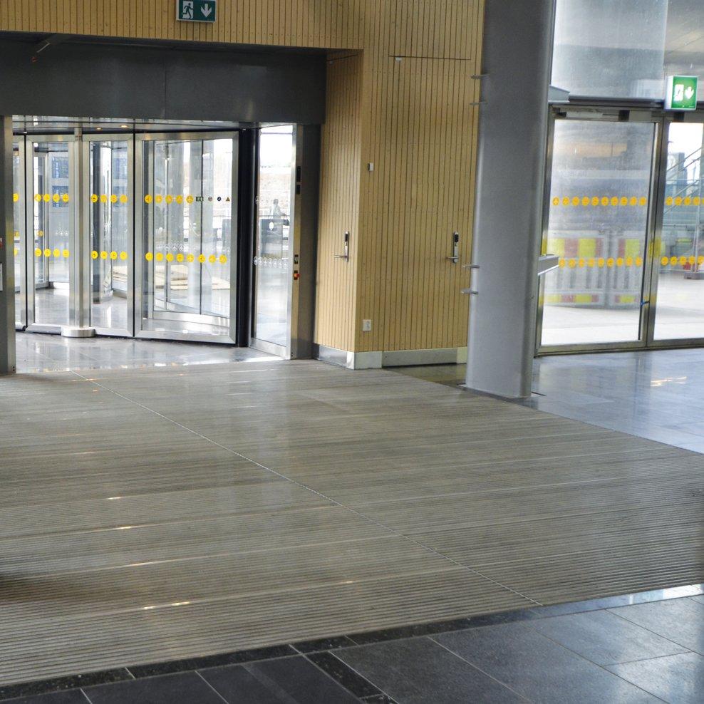 Schmutzfangsystem Schmutzfangmatte Sauberlaufmatte Sauberlaufzone Eingangsbereich Plan C