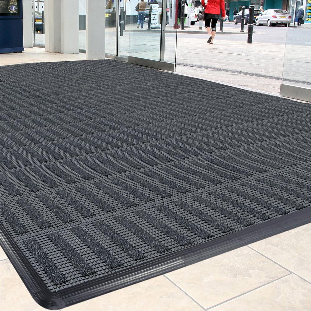 Sauberlaufzone Schmutzfangsystem nach Maß modulare Fliesen recycelt befahrbar