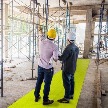 SitePath Bodenmarkierung Gut sichtbare Gehwege Baustellen Werksgeländen