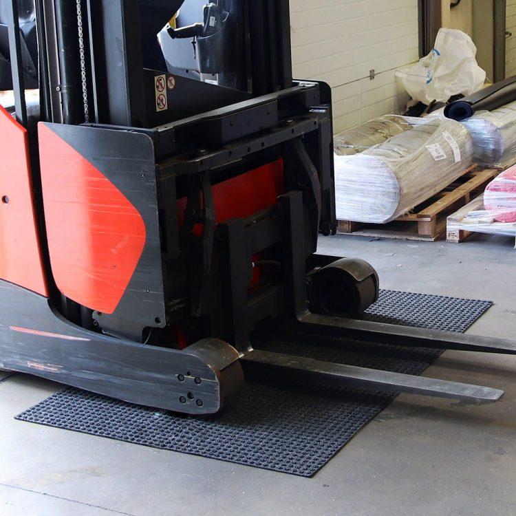 Superdry Heavy Traffic Schmutzfangmatte Gabelstapler Sauberlaufmatte