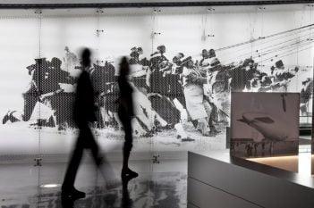 Anti-Ermüdungsmatte im Zeppelin Museum Friedrichshafen