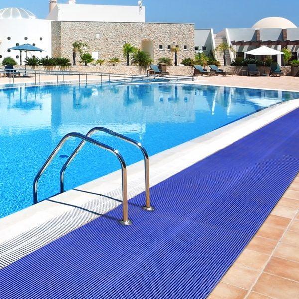 Alfombra de piscina Alfombra para cuartos húmedos Alfombra antideslizante