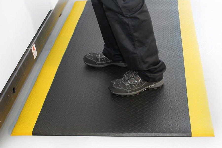 Alfombras antifatiga, alfombras ergonómicas para el lugar de trabajo para la prevención