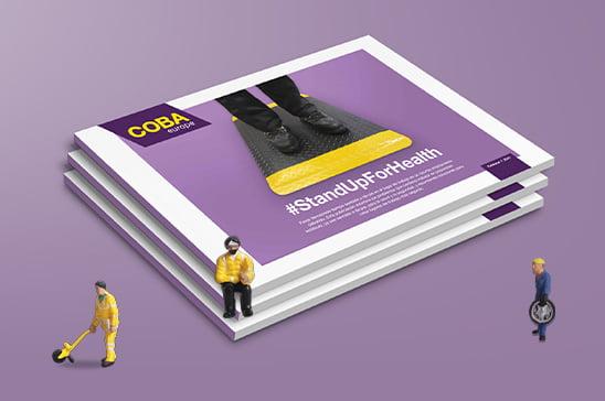 libro electrónico gratuito, bipedestación saludable, alfombras antifatiga