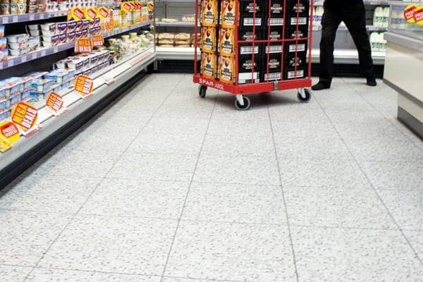 supermarket tiles