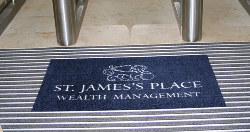Bespoke Logo Entrance Mat Systems From Coba Flooring