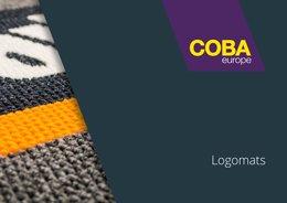 COBA Flooring Logomats Brochure