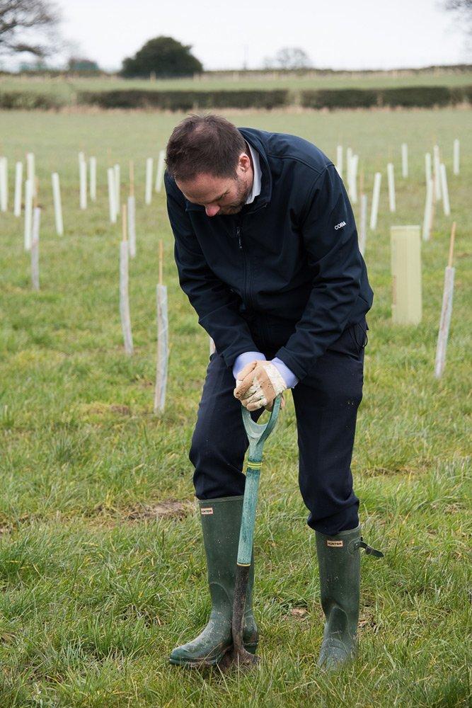 Tree Planting Chris Stanley