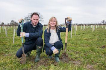 Tree Planting Chris & Tracey