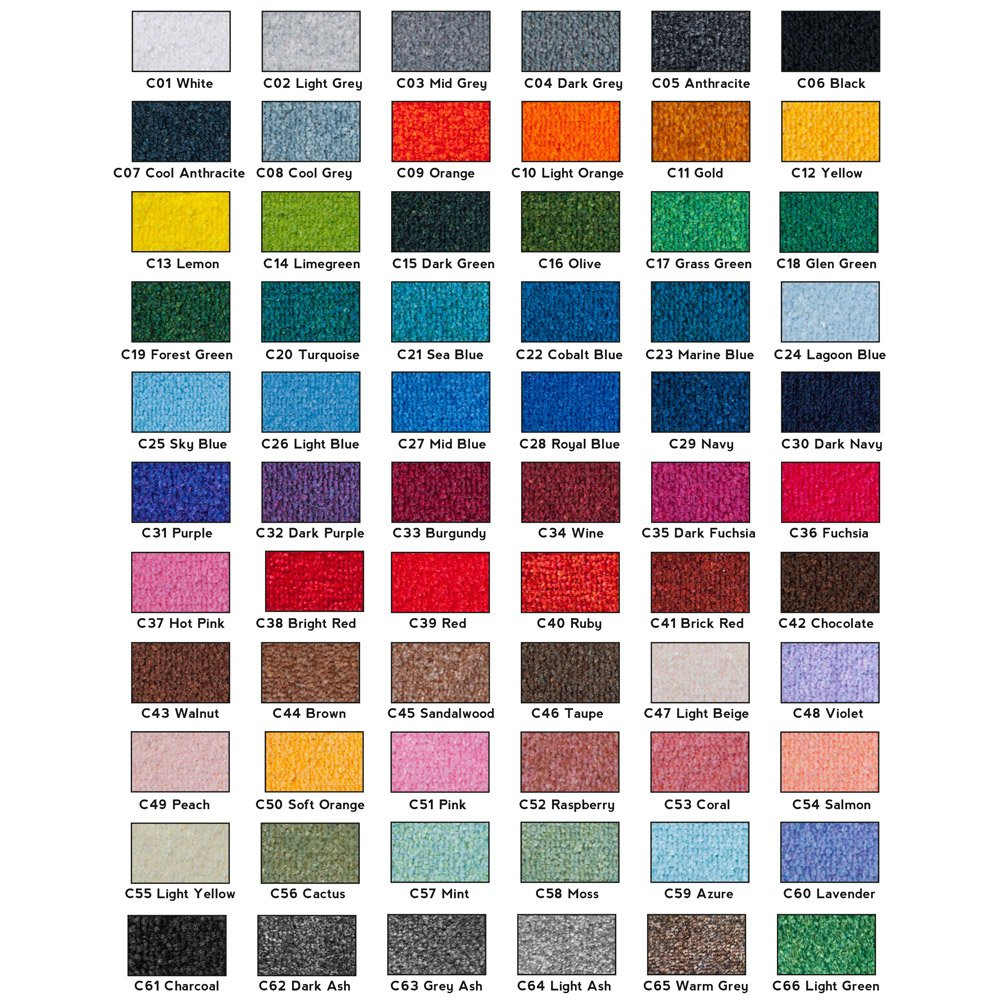 Logo Matting Colours