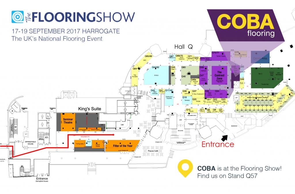 The Flooring Show Floor Plan 2017
