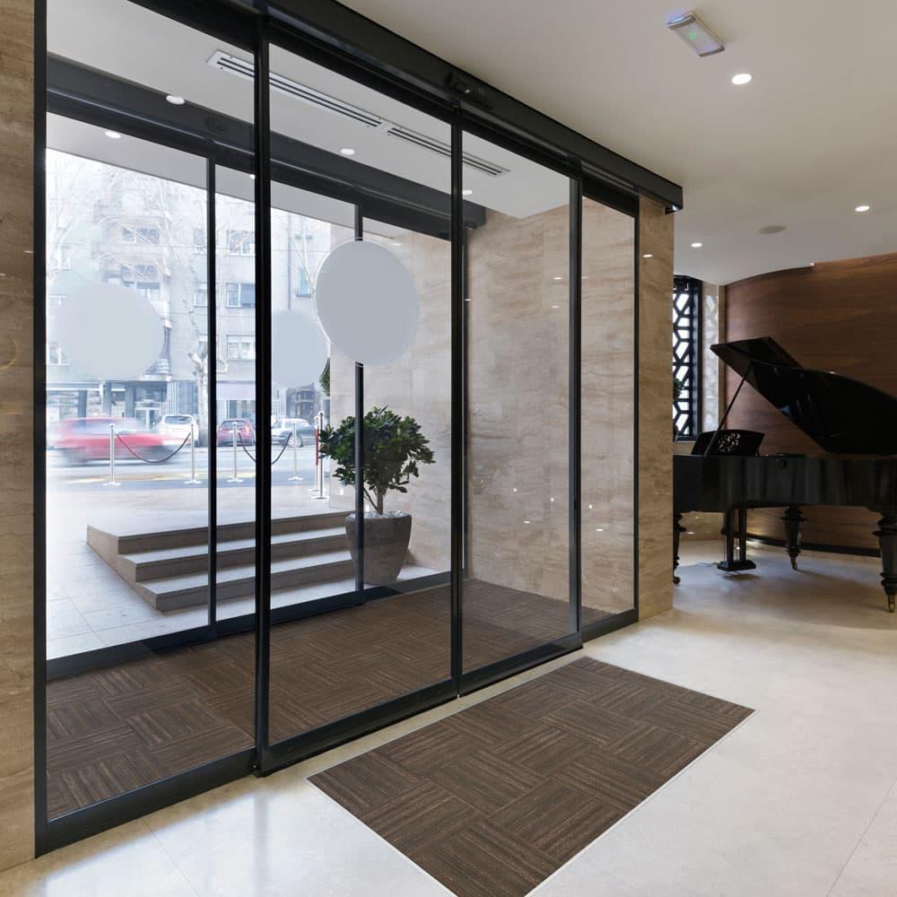 Entrance floor tile