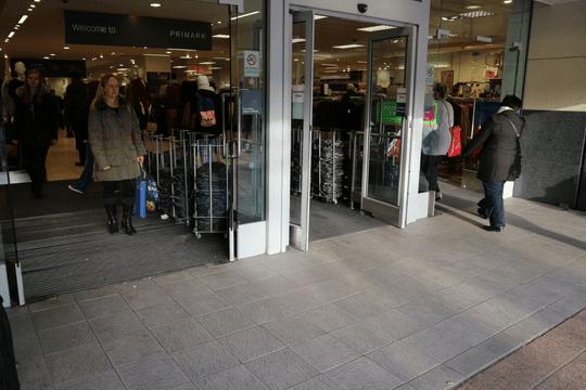 retail barrier matting