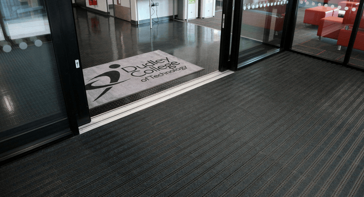 dudley college entrance matting