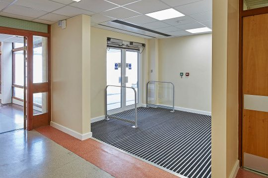 Southlands Hospital Entrance Matting