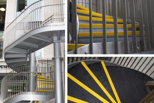 spiral stair nosing