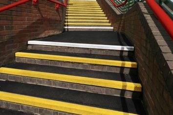 GRP stair tread
