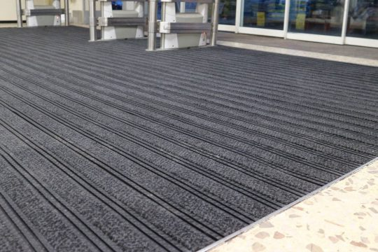 Tesco entrance matting