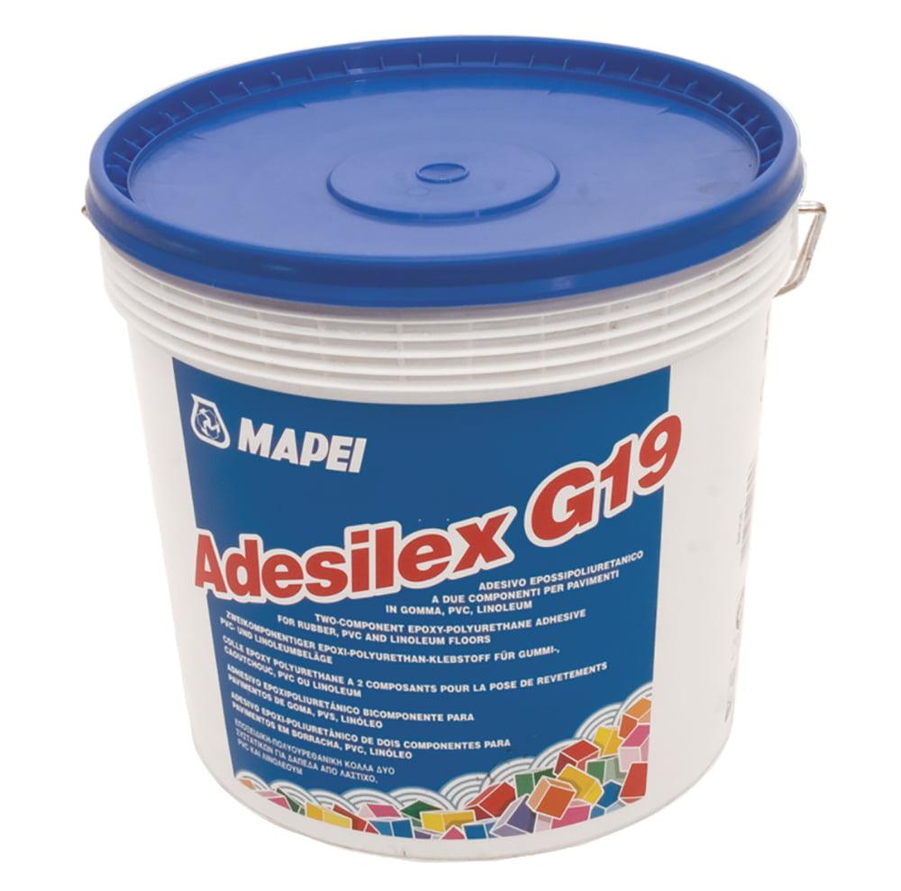 Colle polyuréthane Adesilex G19 pour les revêtements de sol en caoutchouc, PVC et linoléum