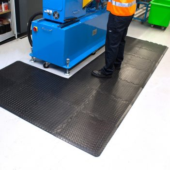 Tapis anti-fatigue carreaux flexibles tapis de travail