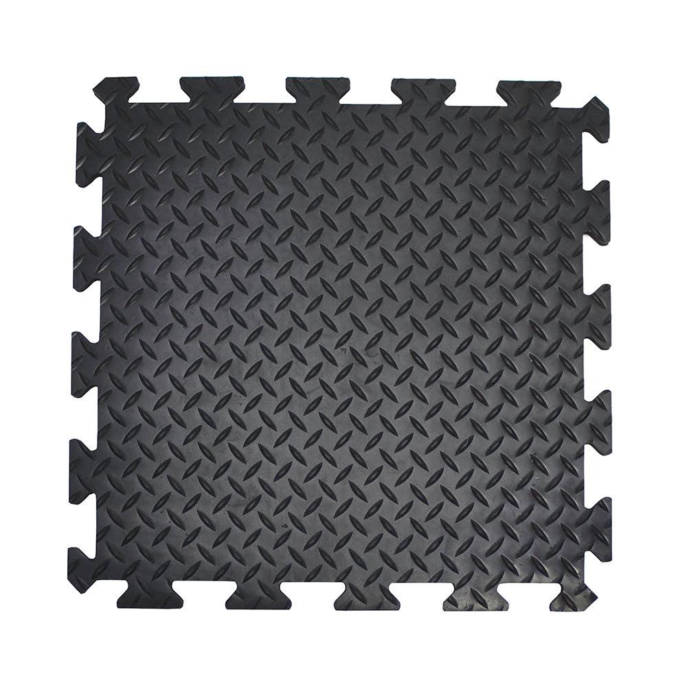 Tapis anti-fatigue carreaux flexibles tapis de travail
