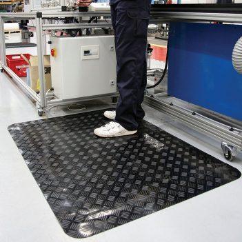 Tapis DES Tapis de travail Tapis industriels Tapis anti-fatigue coupés à longueurTaille spéciale Coba Senso Dial
